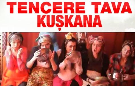 Tencere tava eylemlerine Kuşkana'yı eklediler VİDEO