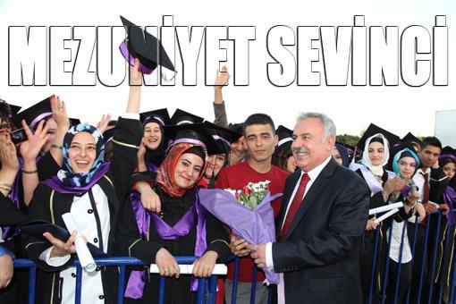 Harran Üniversitesinden 6 bin öğrenci mezun oldu