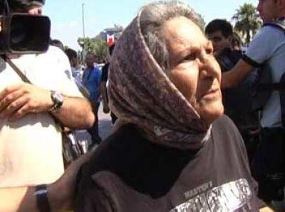 Zahide Nine Gezi eylemcilerini şoke etti VİDEO