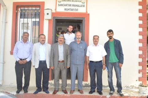 Sancaktar ve Süleymaniye muhtarlarına ziyaret