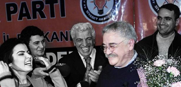 Levent Kırca'da AK Parti'de ders vermiş
