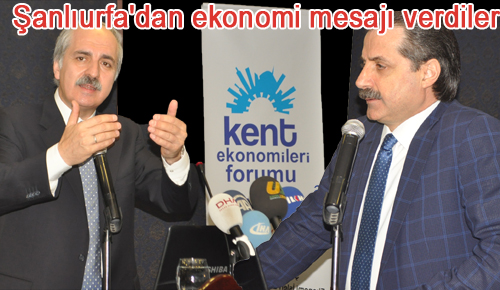 Bakan Çelik ve Numan Kurtulmuş Şanlıurfa'dan ekonomi mesajı verdiler VİDEO