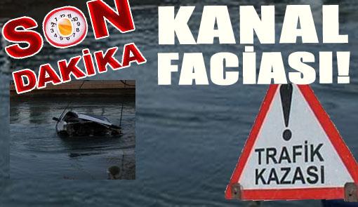Uğurlu'da Araç Kanala Uçtu; 1 Kişi Kayıp