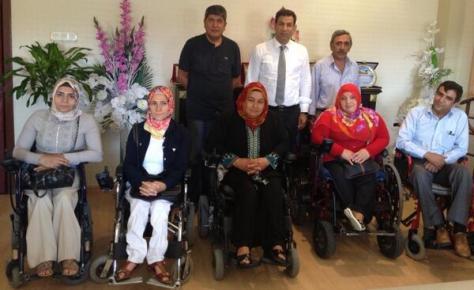 İl Genel Meclisinden engellilere jest