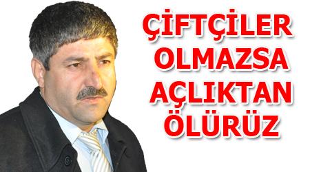 Ziraat Odası Başkanı Eyyüpoğlu'ndan sulama suyu açıklaması