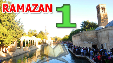 Ramazan sayfası, Kur'anı Kerim Hatimi 1. Cüz