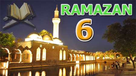 Ramazan sayfası, Kur'anı Kerim 6. Cüz