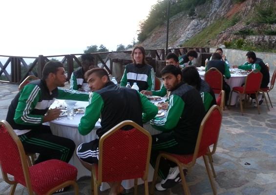 Şanlıurfaspor 1. Etap Kamp Çalışmasını Tamamladı
