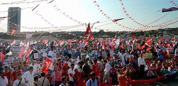 Adeviye Meydanı'nda Türkiye coşkusu!