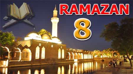Ramazan sayfası, Kur'anı Kerim 8. Cüz