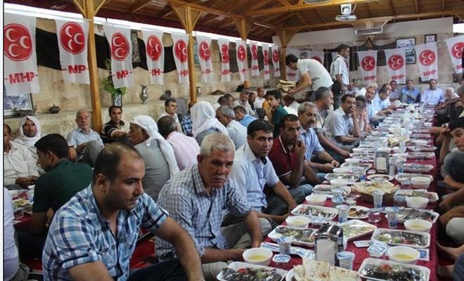 MHP Urfa Teşkilatı İftar Yemeği Verdi-VİDEO