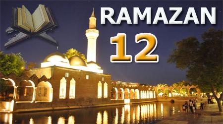 Ramazan sayfası, Kur'anı Kerim 12.Cüz