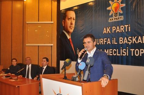 Bakan Suat Kılıç AK Parti İl Danışma Meclisinde Konuştu