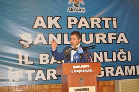 AK Parti Geleneksel İftarında Bakan Suat Kılıç Konuştu