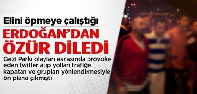 Gezi eylemcisi Şafak Sezer Erdoğan'dan özür diledi