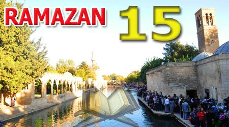 Ramazan sayfası, Kur'anı Kerim 15.Cüz