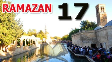Ramazan sayfası, Kur'anı Kerim 17.Cüz