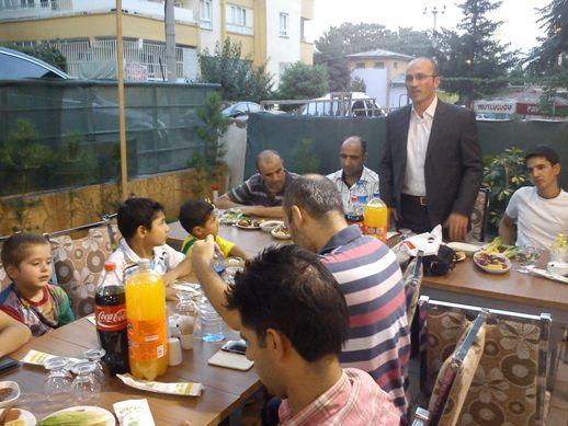 Sefaspor futbolcu ve yöneticileri iftar'da bir araya geldi