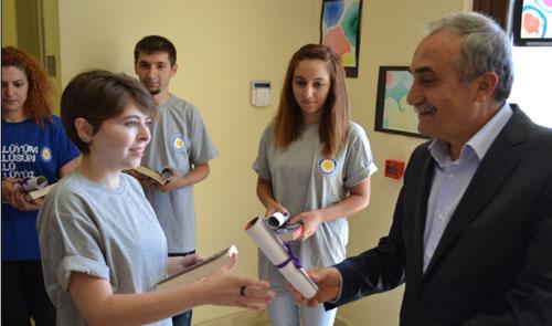 Fakıbaba, TEGV Yaz Dönemi Eğitim Parkı'nı Gezdi
