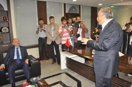 Sağlık Bakanı Müezzinoğlu'dan Şanlıurfa Belediyesine Ziyaret VİDEO
