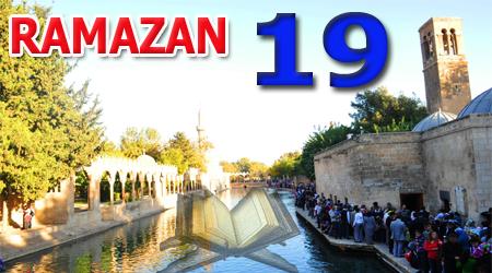 Ramazan sayfası, Kur'anı Kerim 19.Cüz