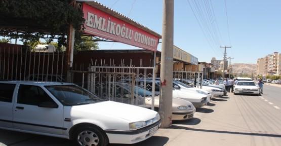 Şanlıurfa'da oto piyasası canlandı
