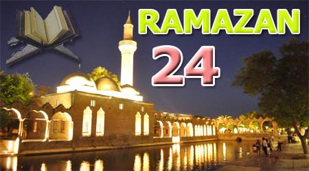 Ramazan sayfası, Kur'anı Kerim 24. Cüz