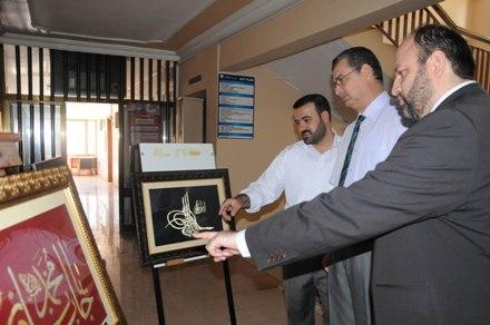 Şanlıurfa'da hat sergisi açıldı