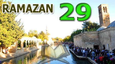 Ramazan sayfası, Kur'anı Kerim Cüz 29