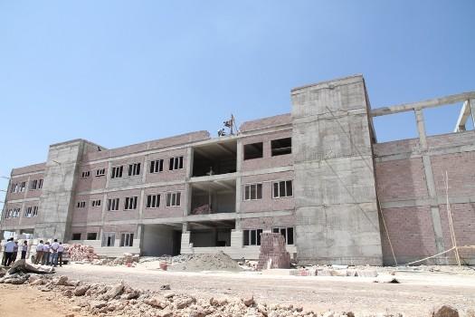 Hilvan Meslek Yüksek okulu yapımı devam ediyor