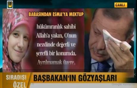 Başbakan Erdoğan gündemi değerlendirdi, Esma'ya ağladı VİDEO