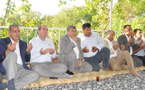 AK Parti Halfeti İlçe Başkanına taziye ziyareti