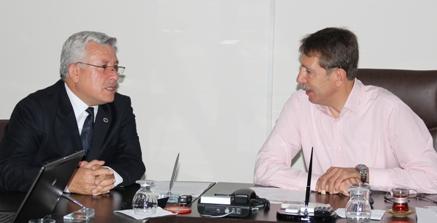 PTT bölge müdürü Cafer Ersoy Şanlıurfa'ya veda ediyor
