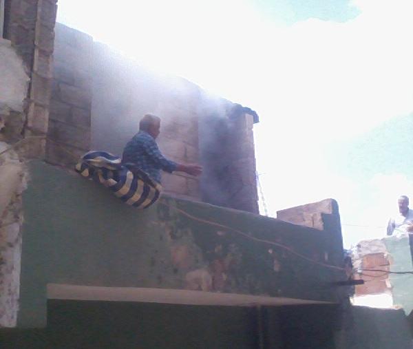 Şanlıurfa Akşemsettin'de Yangın Paniği