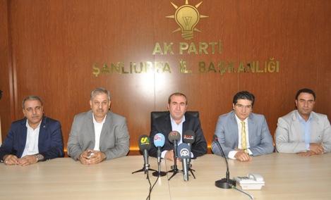 AK Parti Haliliye, Eyyübiye ve Karaköprü Başkanları medya ile tanıştı VİDEO