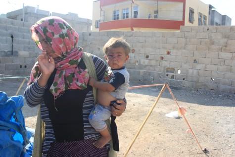 Küçük Rıfat'ta Beşar Esad'ın zulmünden kurtulamadı