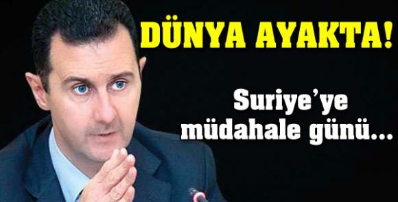 Suriye'ye müdahale günü açıklandı