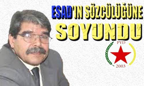 PYD, Baas Rejiminin yıkılmasını istemiyor