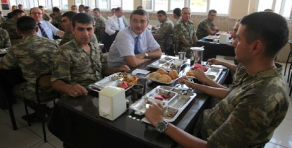 Güvenç'ten Kömürcü'ye Hayırlı Olsun Ziyareti