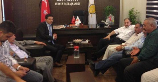 Kasım Gülpınar, yeni başkanları tebrik etti