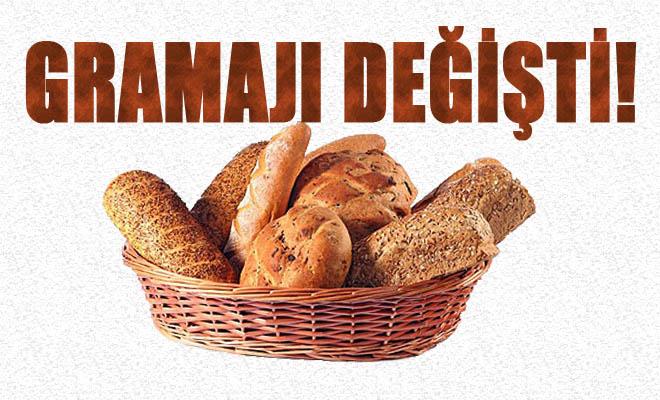 Ekmek'te Gramaj Değişikliği!