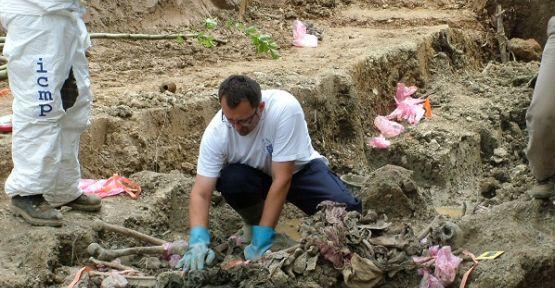 Siverek'te toplu mezar bulundu