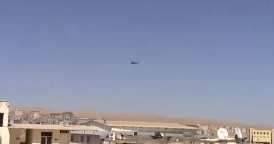 Şanlıurfa'da helikopter hareketliği