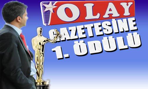 OLAY Gazetesine 1. Ödülü