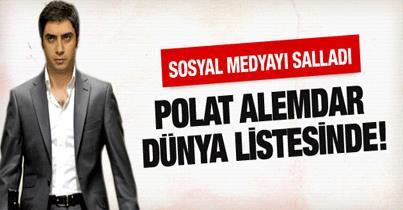 Polat Alemdar dünya listesinde!