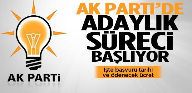 AK Partiye aday olacakların ödeyeceği ücret açıklandı