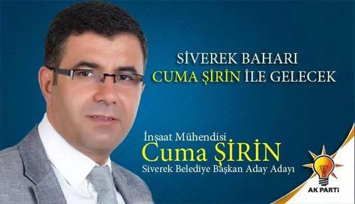 Cuma Şirin AK Parti Siverek Belediye Başkan aday adayı oldu