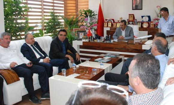 CHP Heyeti Urfa'da Ziyaretlere Başladı