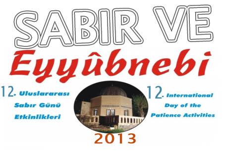 Şanlıurfa'da Eyyüp Nebi Sabır Etkinlikleri başlıyor