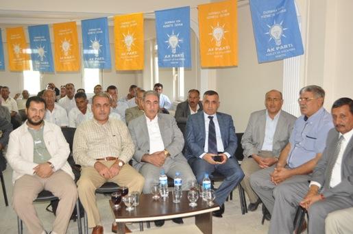 AK Parti Harran Danışma Meclisi Toplantısı gerçekleşti VİDEO